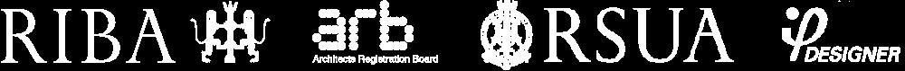 RIBA RSUA ARB RIAI Logos